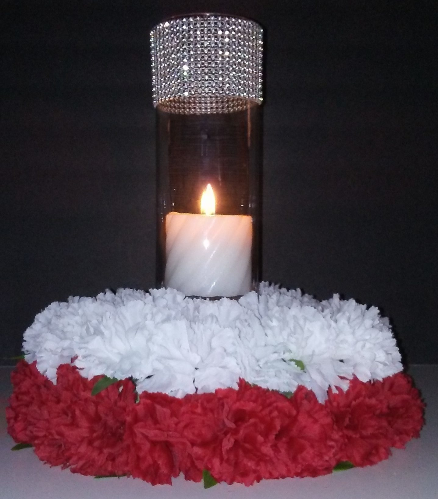 Diy wedding centerpieces candles image detail for