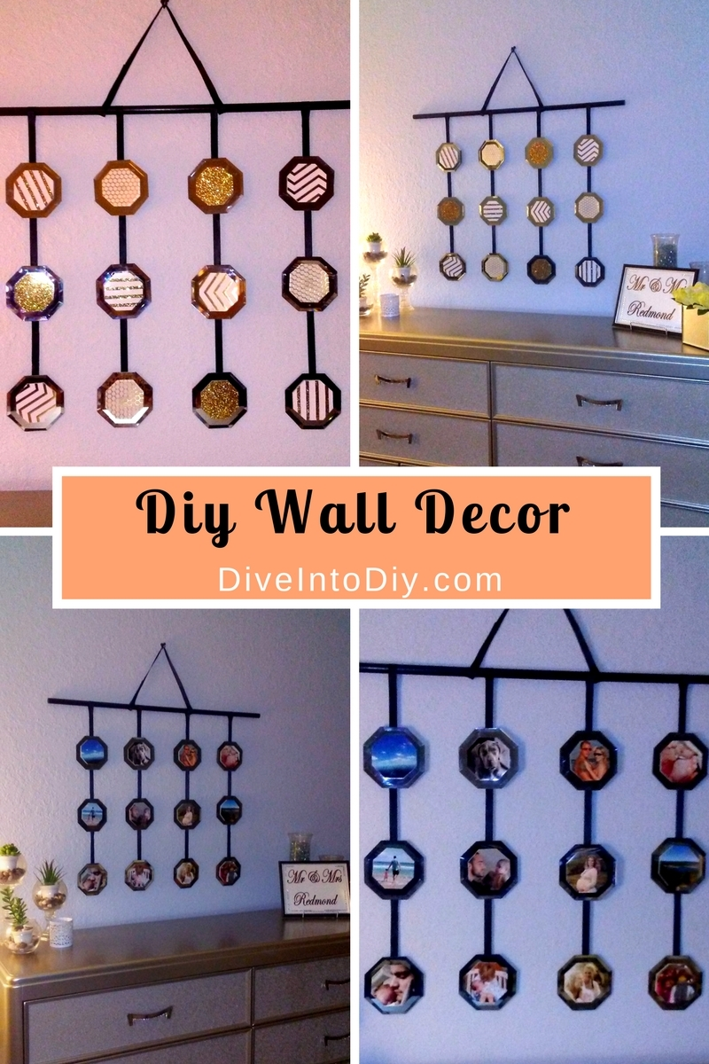 Pictures Of Diy Wall Decor : Diy wall decor dive into
